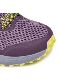 Fioletowe buty do biegania columbia z cholewką