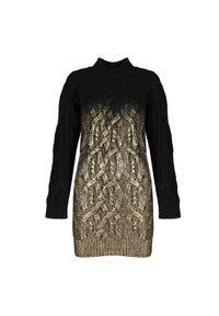 """Pinko Sukienka """"Estone"""". Materiał: wełna. Typ sukienki: dopasowane. Długość: mini"""
