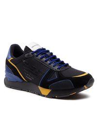 Emporio Armani Sneakersy X4X289 XM499 Q041 Czarny. Kolor: czarny