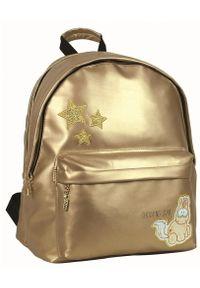 Back Me Up plecak codzienny junior Nici Theodor Gold. Styl: casual