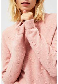 Sweter MOODO w grochy