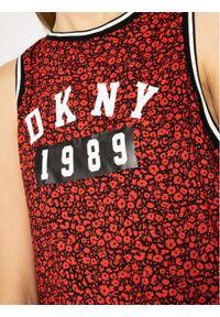 Czerwona piżama DKNY