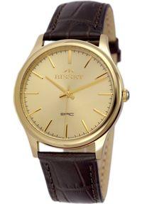 Czarny zegarek Bisset klasyczny