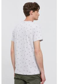 Pepe Jeans - T-shirt LYNCH. Okazja: na co dzień. Kolor: szary. Materiał: dzianina. Styl: casual