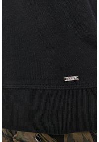 DKNY - Dkny - Bluza. Okazja: na co dzień. Kolor: czarny. Materiał: dzianina. Długość rękawa: długi rękaw. Długość: długie. Styl: casual