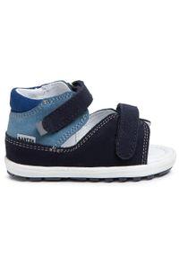 Niebieskie sandały Bartek na lato, klasyczne