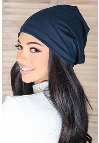 Niebieska czapka IVET na zimę
