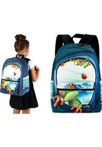 Cogio Kids Italy Plecak szkolny 2046AM granatowy. Kolor: niebieski