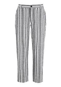 Spodnie Cellbes w paski, z podwyższonym stanem, na wiosnę, eleganckie