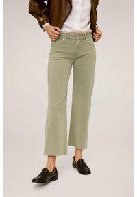 Zielone jeansy mango