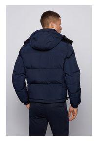 Niebieska kurtka puchowa BOSS #7
