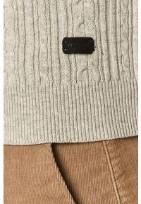 Only & Sons - Sweter. Kolor: szary. Wzór: ze splotem