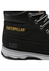 CATerpillar - Trapery CATERPILLAR - Founder CK264150 Black. Kolor: czarny. Materiał: skóra ekologiczna, materiał. Szerokość cholewki: normalna