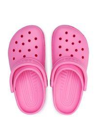 Crocs Klapki Classic 10001 Różowy. Kolor: różowy