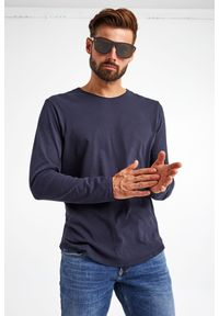 JOOP! Jeans - LONGSLEEVE CHARLES JOOP! JEANS. Materiał: bawełna. Długość rękawa: długi rękaw. Wzór: haft