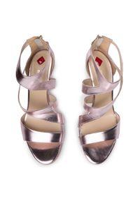 Różowe sandały Maccioni klasyczne
