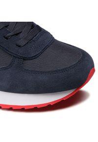 Colmar - Sneakersy COLMAR - Travis Boost 134 Navy/Red. Okazja: na co dzień. Kolor: niebieski. Materiał: zamsz, materiał, skóra. Szerokość cholewki: normalna. Styl: casual, sportowy #4