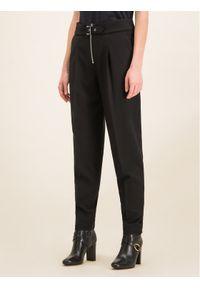 Hugo Spodnie materiałowe Hokali 50421108 Czarny Regular Fit. Kolor: czarny. Materiał: materiał