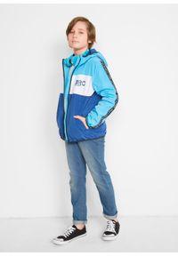 Niebieska kurtka bonprix #5