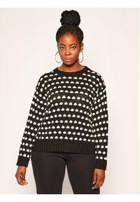 Czarny sweter klasyczny Persona by Marina Rinaldi