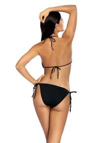 Czarny strój kąpielowy dwuczęściowy Lorin z aplikacjami