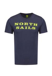 North Sails - T-shirt NORTH SAILS S/SW/GRAPHIC. Materiał: prążkowany, bawełna. Sezon: lato
