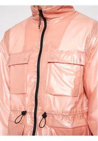 Rains Kurtka przeciwdeszczowa Unisex 1846 Różowy Regular Fit. Kolor: różowy #9