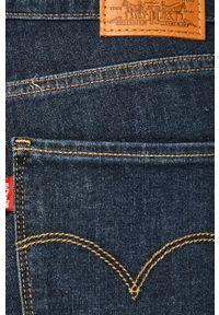 Niebieskie jeansy Levi's® do pracy, biznesowe