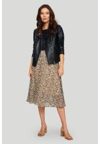 Greenpoint - Elegancka spódnica z nadrukiem. Wzór: nadruk. Styl: elegancki