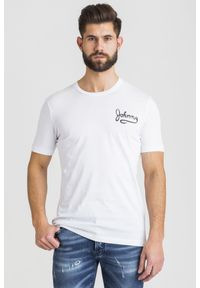 T-shirt John Richmond z nadrukiem