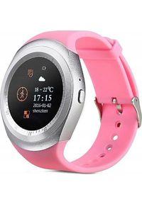 Smartwatch PDS X5 Różowy. Rodzaj zegarka: smartwatch. Kolor: różowy