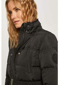Czarny płaszcz Pepe Jeans z kapturem, na co dzień, casualowy #6