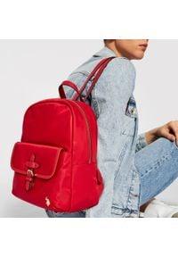 U.S. Polo Assn - Plecak U.S. POLO ASSN. - Houston S Backpack Bag BIUHU4924WIP400 Red. Kolor: czerwony. Materiał: skóra. Styl: casual, elegancki, sportowy