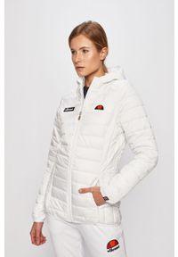 Biała kurtka Ellesse z kapturem, na co dzień, casualowa