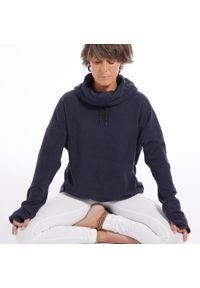 KIMJALY - Bluza do jogi damska Kimjaly. Kolekcja: moda ciążowa. Materiał: bawełna, materiał, poliester. Długość: długie. Sport: joga i pilates