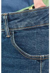 TALLY WEIJL - Tally Weijl - Spódnica jeansowa. Okazja: na co dzień. Kolor: niebieski. Materiał: jeans. Styl: casual