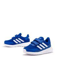 Sneakersy Adidas na rzepy, z cholewką, w paski