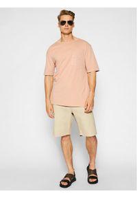 Imperial T-Shirt TJ08BCKTD Różowy Oversize. Kolor: różowy