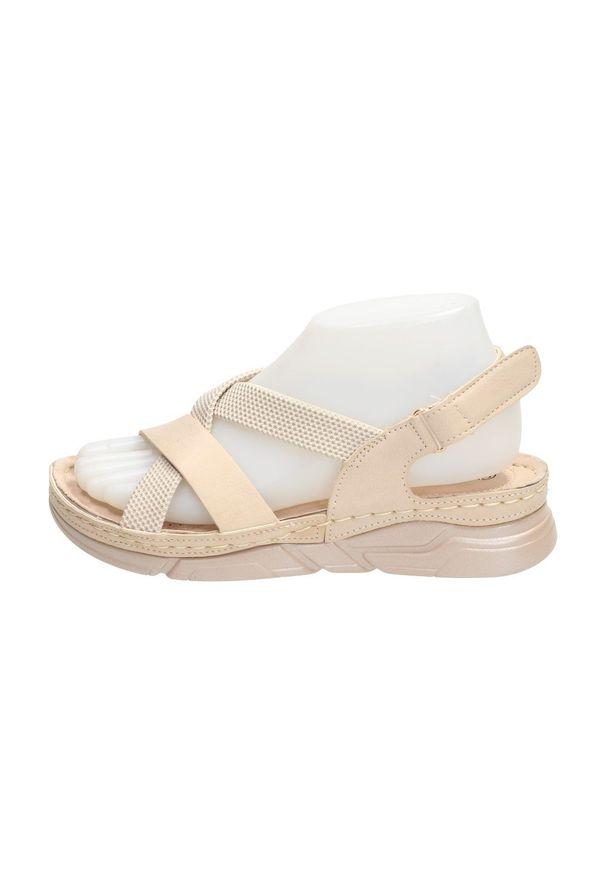 Beżowe sandały Sabatina klasyczne