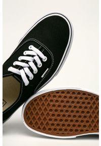 Vans - Tenisówki Authentic. Nosek buta: okrągły. Zapięcie: sznurówki. Kolor: czarny. Szerokość cholewki: normalna