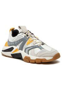 Geox Sneakersy T01 A T94BTA 01422 C0592 Biały. Kolor: biały