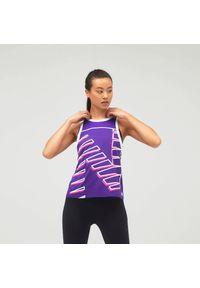 New Balance WT11239DVH. Materiał: poliester. Długość rękawa: bez rękawów. Sezon: lato. Sport: fitness