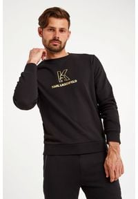 Karl Lagerfeld - BLUZA KARL LAGERFELD. Wzór: nadruk