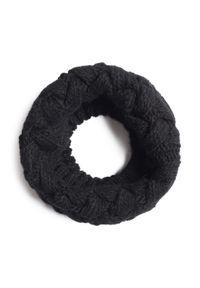 Mayoral - Komin MAYORAL - 10889 Negro 71. Kolor: czarny. Materiał: wełna, wiskoza, akryl, materiał