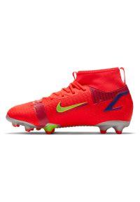 Buty piłkarskie dla dzieci Nike Jr Mercurial Superfly 8 Academy MG CV1127. Materiał: materiał. Szerokość cholewki: normalna. Sport: piłka nożna