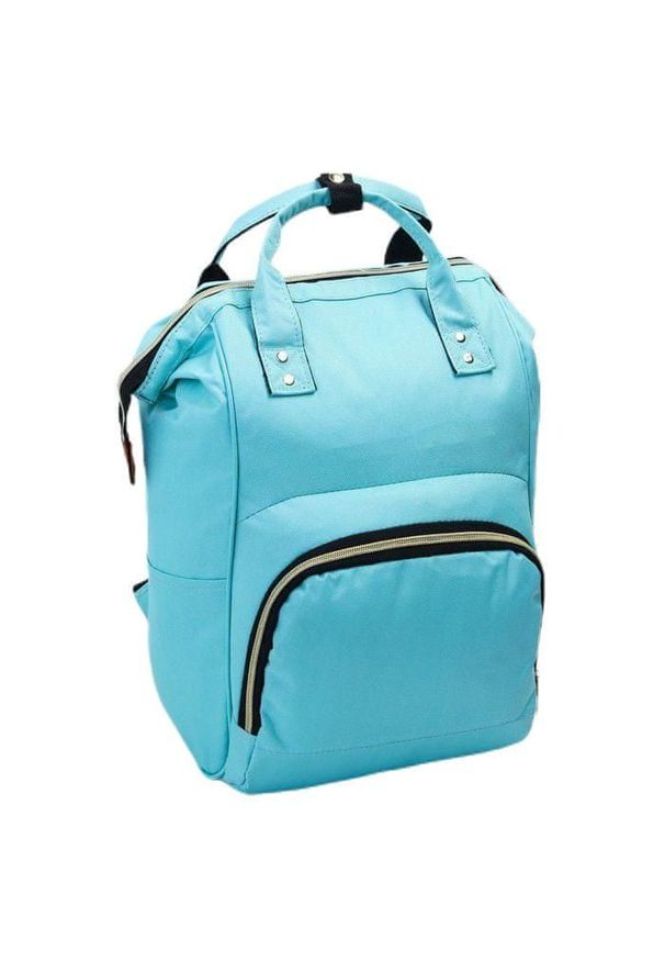 Turkusowa torba podróżna