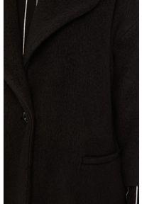 Czarny płaszcz MAX&Co. casualowy, na co dzień, bez kaptura