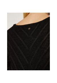 Czarny sweter Silvian Heach