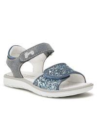 Niebieskie sandały Primigi na lato, z aplikacjami