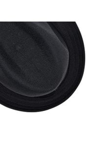 Kangol - Kapelusz KANGOL - Trapic Player 6371BC Black BK001. Kolor: czarny. Materiał: materiał, akryl, poliester